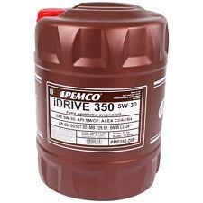5W-30 Motoröl 20L PEMCO iDRIVE 350 5W30 API SN CF BMW LL-04 MB 229.51