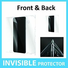 Samsung C9 Pro Screen Protector Front and Back FULL Coverage Invisible Shield