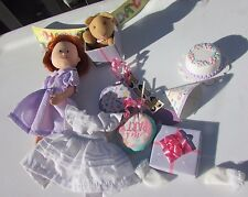 Madeline Doll Birthday Celebration Special Edition Doll & Accessories Eden 8""