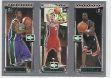 2003-04 Topps Rookie Matrix T.J. Ford Chris Kaman Dwyane Wade RC