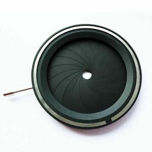 1PC Adjustable 4-60mm Mechanical Iris Aperture Diaphragm For Microscope/Camera
