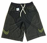 NWT Nike Men's FLYKNIT Football Soccer Shorts 815553 010 Black & Volt Sz Medium