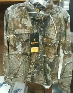Browning Wasatch Realtree Youth's Long Sleeve Button Up Shirt XL