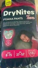 8XXL Pack 104 Huggies DryNites Teen Pyjamahosen für MÄDCHEN (8-15 Jahre&27-57kg)