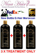 G.HAIR BRAZILIAN KERATIN MOROCCAN 3 X TREATMENT ONLY. FREE SHIPPING BY FEDEX