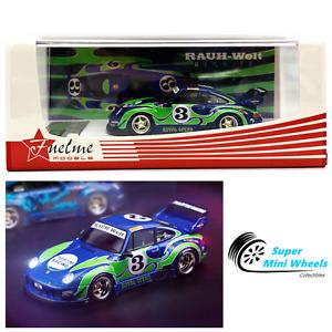 "FuelMe 1/64 RAUH-Welt BEGRIFF RWB Porsche 911 (993)  ""Royal Ocean"" Version 2"