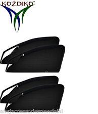 4 Zip Zipper Magnetic Sun Shades Car Curtain For - Hyundai i20 Elite