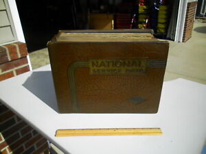 Vintage 1949 National Service Data Shop Manual Book Chevrolet Ford Dodge Willy's