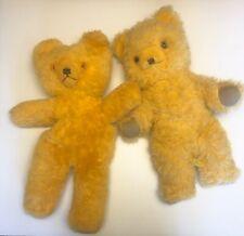 2 Vintage Dean' Childsplay Toys Teddy Bears Pajama Bag UK Lot