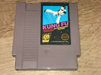 Kung Fu Nintendo Nes Cleaned & Tested Authentic