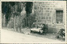 Espagne, A Pampelune (Pamplona), 1955 Vintage silver print.  Tirage argentique