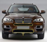Genuine BMW X6 E71 E72 Hyb (08-14) Front Bumper Black Grilles LOWER+UPPER