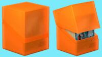 ULTIMATE GUARD BOULDER POPPY TOPAZ Standard Size DECK CASE 100+ Card Storage Box