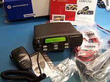 Motorola CDM1250 VHF 136-174MHz  45 Watt AAM25KKD9AA2AN Tested NEW