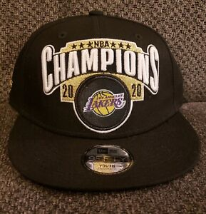 Los Angeles Lakers Youth 2020 Champions Snapback Hat