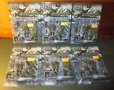 2005 Elite Force 1:18 Scale MOC US Paratroopers 82nd & 101st  AB Figure Set BBI