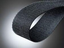 Hakenband Klettband Flauschband Breite 50mm, schwarz von Fa. Binder