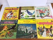 Lot of 6 Vintage Disneyland Records / LPs