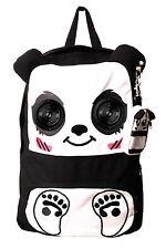 Panda Speaker Bag by Banned School BACKPACK Rucksack Plug & Play Music Radio