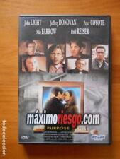DVD MAXIMORIESGO.COM (PURPOSE) - JOHN LIGHT - MIA FARROW (7T)