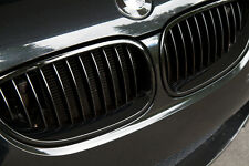 Original BMW 5 E60 E61 03-10 M RENDIMIENTO Negro Rejilla Forma Riñón