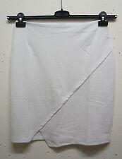Unifarbene knielange Stretchröcke aus Baumwollmischung