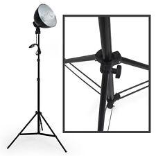 2x Estudio fotográfico Kit iluminación Set Lámpara Fotografía Trípode NUEVO
