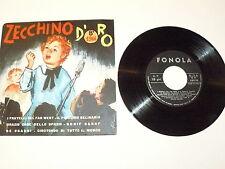 "ZECCHINO D'ORO 1966 ""I FRATELLI DEL FAR WEST..."" 7"" EP 33 giri FONOLA 1966"