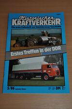 Historischer Kraftverkehr HIK 5/86 Büssing U12000 Bulldogs Borgward B 4000