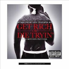 "NEW SEALED CD 50 Cent ""Get Rich Or Die Tryin'"" Sound Track ""      (G)"