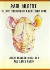 Paul Gilbert Silence Followed By A Deafening Roar Learn to Play Guitar Music DVD