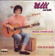 """""""7"""" - ULLI von DELFT - Tua net so - sehr RARE schweizer Pressung"""