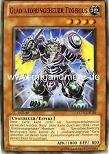 Yu-Gi-Oh 3x Gladiatorungeheuer Tygerius - - - EXVC