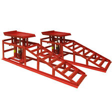 Lifting Car Device Ramp Jack 2t 2 Heights Hydraulic Adjustable Vans Professional