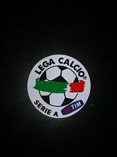 PATCH SERIA A TIM 08 -10 LEXTRA ORIGINAL MATCH WORN SENSCILIA SPORTING ID RUBBER