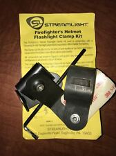 Streamlight Firefighter Helmet Flashlight Clamp Kit 4AA