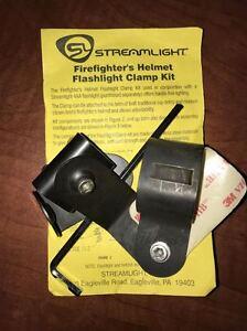 Streamlight Firefighter Helmet Flashlight Clamp Kit for 4AA Flashlight