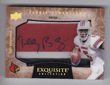 2014 Exquisite Collection TEDDY BRIDGEWATER PATCH AUTOGRAPH! VIKINGS JETS! /5 WS