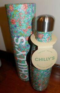 CHILLY'S VACUUM  INSULATED  BOTTLE FLORAL EDITION PEONY    500ML
