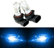 LED 30W 9006 HB4 Blue 10000K Two Bulbs Fog Light Show Color Lamp Replace OE