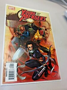 Young Avengers # 9 (MARVEL 2005) SUPER SKRULL APP/KATE BISHOP COVER-KEY-VF