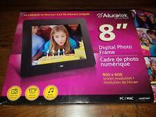 "Aluratek - 8"" LCD Digital Photo Frame - 800 x 600 Model ADPF08SF"