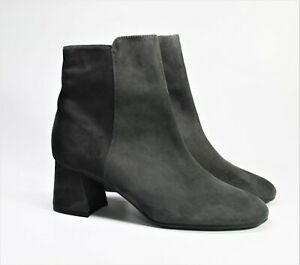 PETER KAISER Stiefelette Damen Schuhe Betty schwarz grau Velours Echtleder  NEU