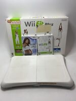 Nintendo Wii Fit Balance Board Bundle w/ 2 Games Plus & Jillian Michaels Tested