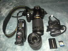 Nikon D D50 6.1Mp Digital Slr Camera - Black With Nikkor 300mm Lens & Other