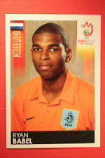 Panini EURO 2008 N. 272 BABEL NEDERLAND NEW With BLACK BACK TOPMINT !!