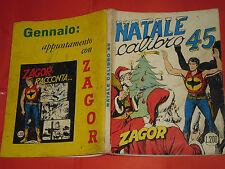 ZAGOR ZENITH- ORIGINALE- N°105 b -LIRE 200- (ZAGOR gigante N°54)- DEL 1969- raro
