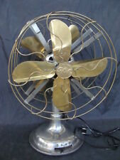 VENTILATORE GENERAL ELECTRIC DOPPIA PALA VINTAGE  EPOCA OLD DOUBLE FAN ITALY