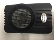 """Lynx Car Audio 8"""" 160W max Subwoofer Enclosure fits under seats with bass knob"""