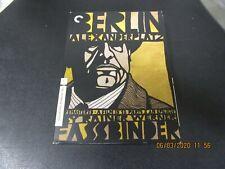 Rainer Werner Fassbinder Berlin Alexanderplatz 7xDVD Used! Criterion Collection